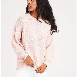 American Eagle Pink Sweater size S